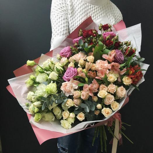 Счастливый момент: букеты цветов на заказ Flowwow