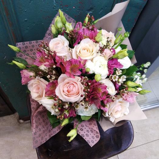Букет звезда: букеты цветов на заказ Flowwow