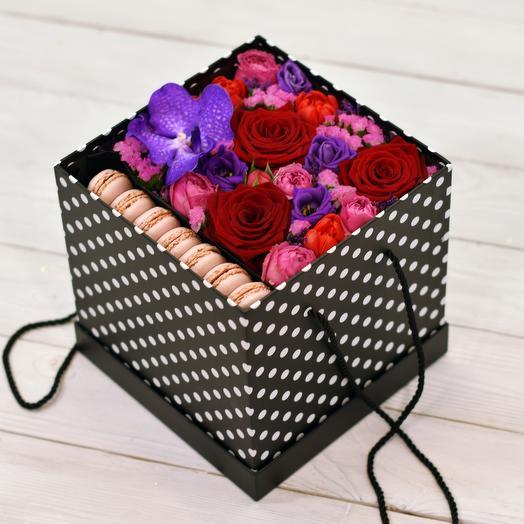 Коробка Darling: букеты цветов на заказ Flowwow