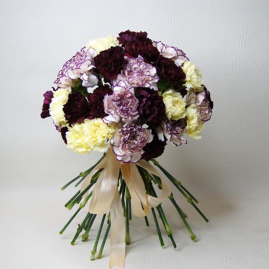 Гвоздичный микс: букеты цветов на заказ Flowwow