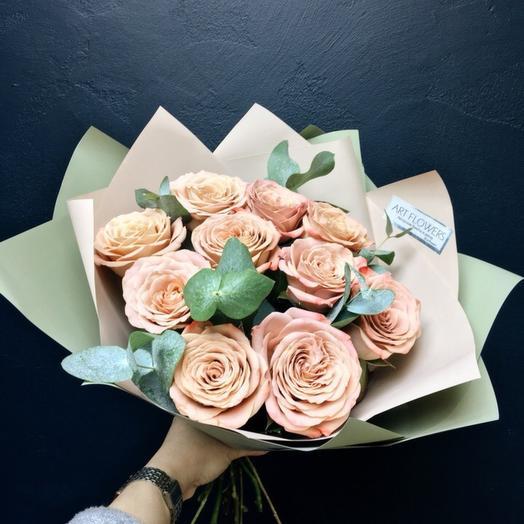 Букет цвета каппучино: букеты цветов на заказ Flowwow