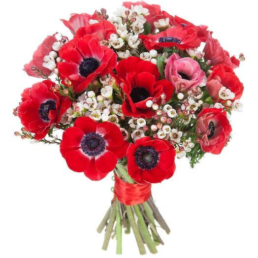 Красные Маки: букеты цветов на заказ Flowwow