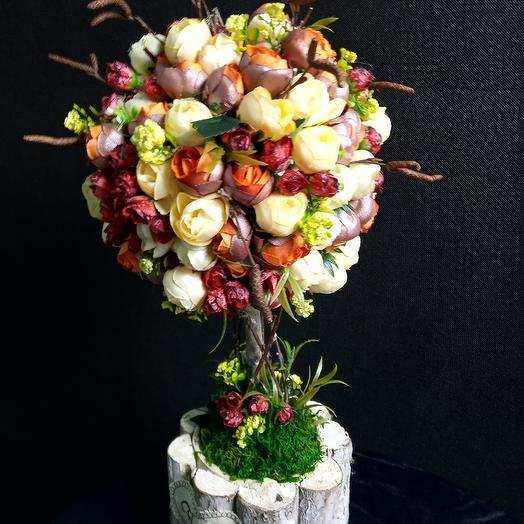 Дерево счастья: букеты цветов на заказ Flowwow