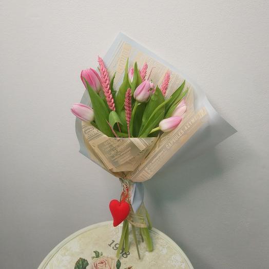 "Букетик-презент ""Любимой"": букеты цветов на заказ Flowwow"