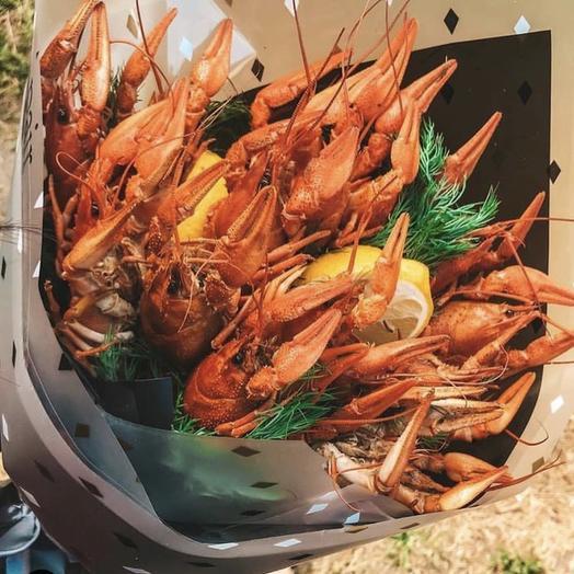 Букет из раков «Мечта любого мужчины»: букеты цветов на заказ Flowwow