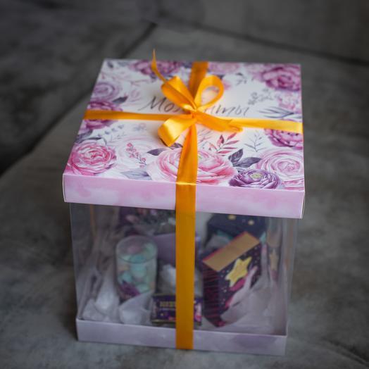 "Коробочка ""Моменты счастья"": букеты цветов на заказ Flowwow"