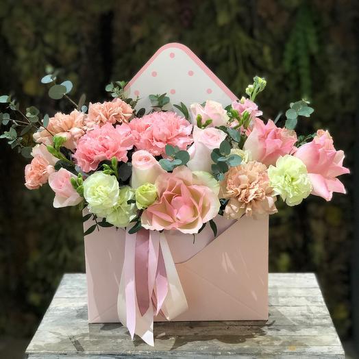 Письмо нежности: букеты цветов на заказ Flowwow