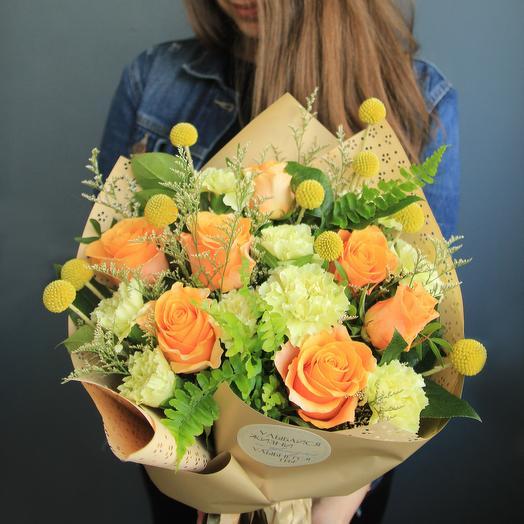 Оранжевый: букеты цветов на заказ Flowwow