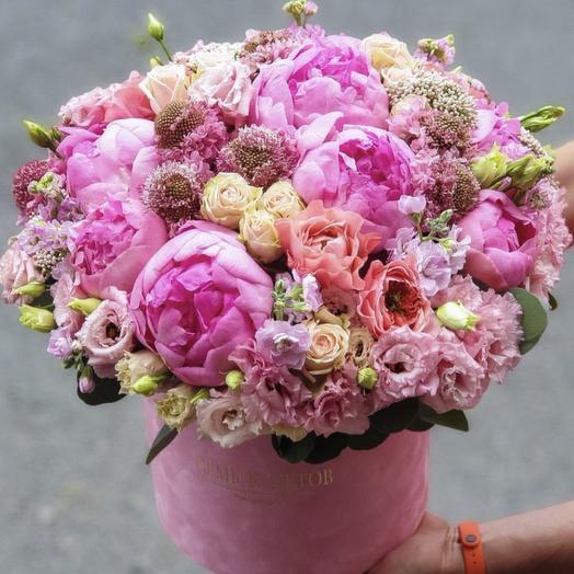 Великолепная ароматная коробочка: букеты цветов на заказ Flowwow