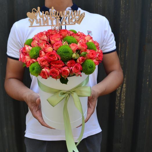 Миниатюрный букет на 1 сентября: букеты цветов на заказ Flowwow