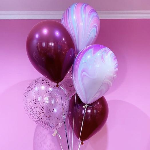 5 воздушных шариков