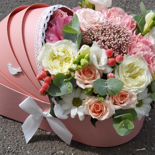 Люлька на выписку: букеты цветов на заказ Flowwow
