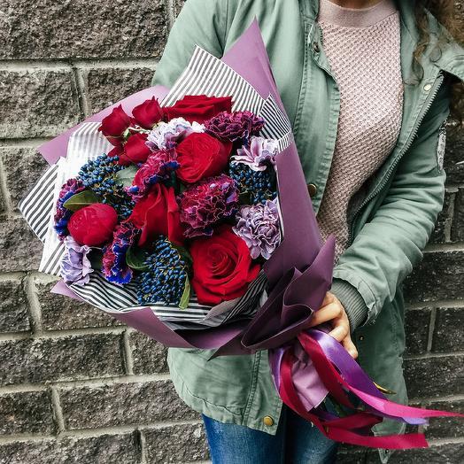Галактика в букете 🌌: букеты цветов на заказ Flowwow