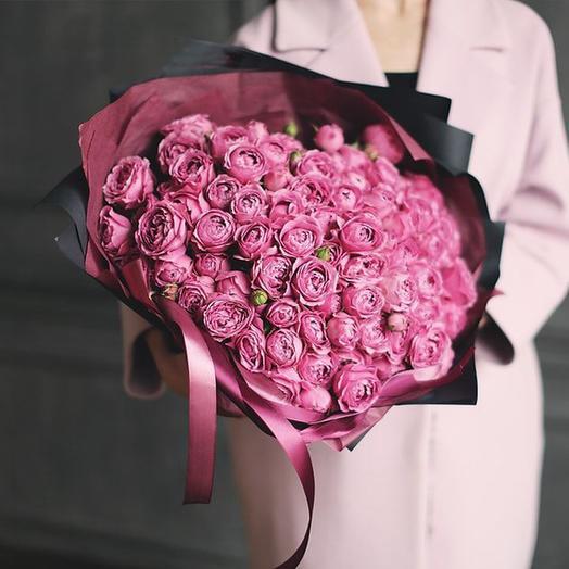 "Букет ""Мисти Баблз"" Large: букеты цветов на заказ Flowwow"