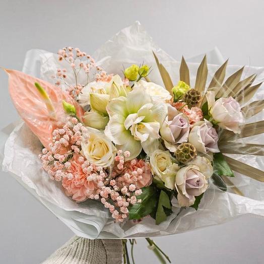 Букет- осенняя прохлада: букеты цветов на заказ Flowwow