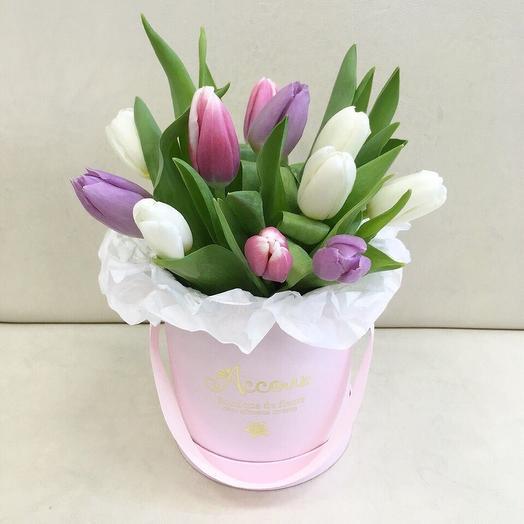 Весенний комплемент: букеты цветов на заказ Flowwow