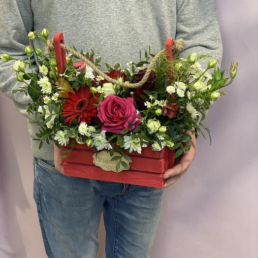 Ящик любви: букеты цветов на заказ Flowwow