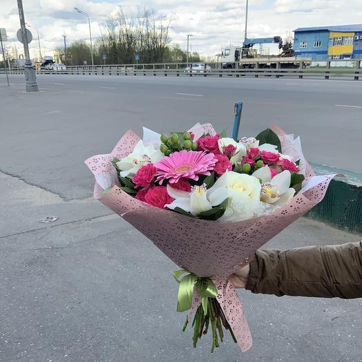 Букет Орхидея Вайт: букеты цветов на заказ Flowwow