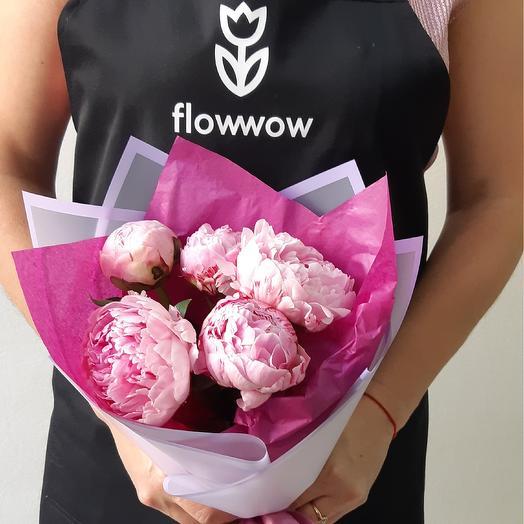 Розовый пломбир: букеты цветов на заказ Flowwow