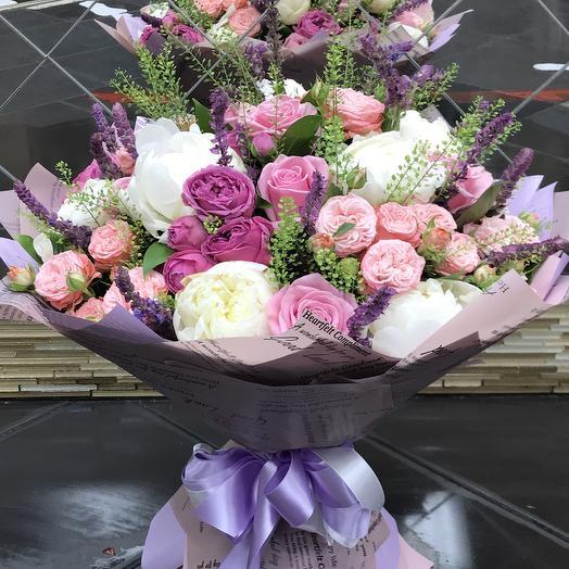 Букет «Нежность»💐: букеты цветов на заказ Flowwow