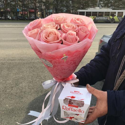 Розы +Raffaello