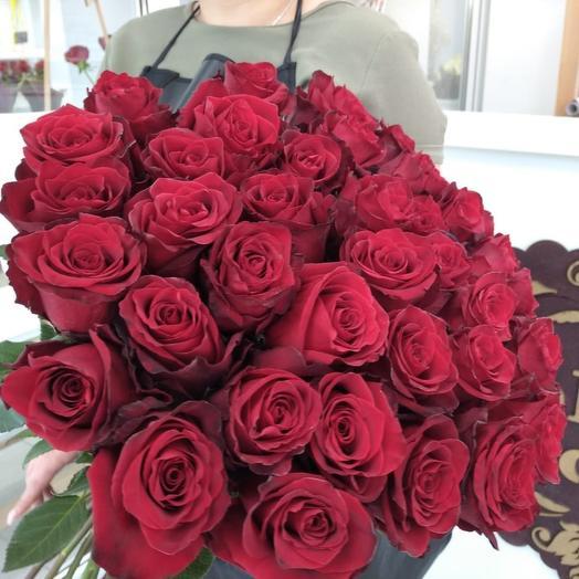25 Эквадорских роз 70см