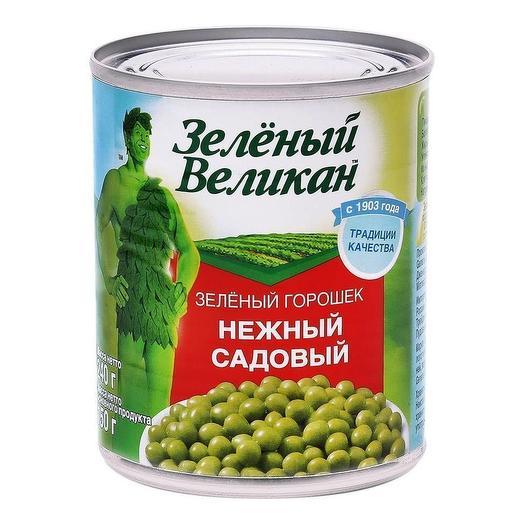 Горошек садовый Зеленый Великан 240 гр