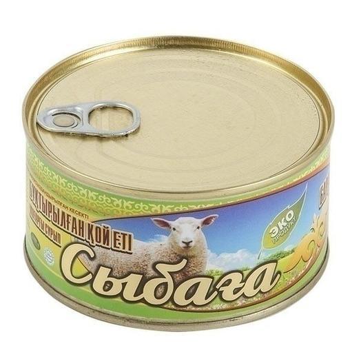 Баранина тушеная Сыбага высший сорт 325 гр