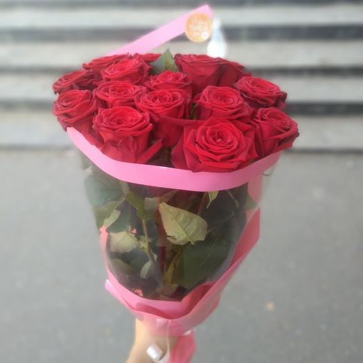 """""""Классика""""букет из красных роз"""