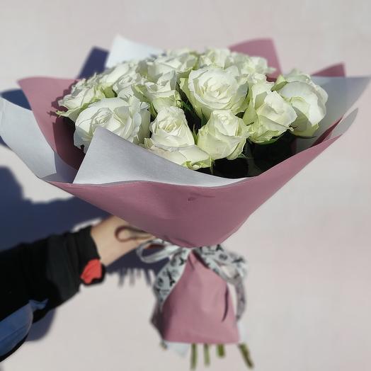 "Букет ""Белая роза"""