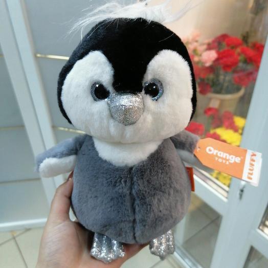 Пингвиненок пушистик