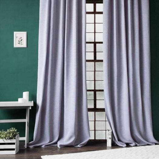 Комплект штор Фиджи Фиолетовый, 140х270 см - 2 шт