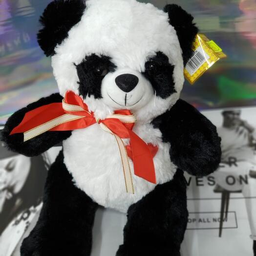 Мини панда с бантиком