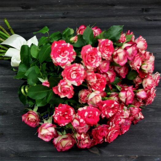 Аврора 11 кустовых роз