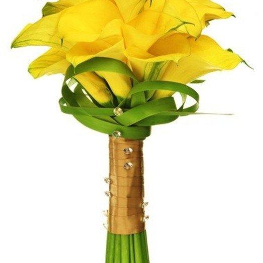 Свадебный букет Сапфир: букеты цветов на заказ Flowwow