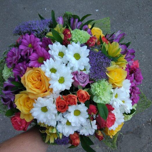 Составной букет: букеты цветов на заказ Flowwow