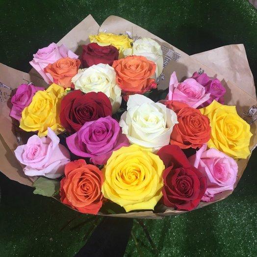 Премиум ассорти эквадорских роз