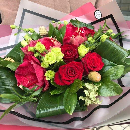 """Букет """"Фламенко"""": букеты цветов на заказ Flowwow"""