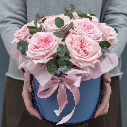 Коробка зефира: букеты цветов на заказ Flowwow