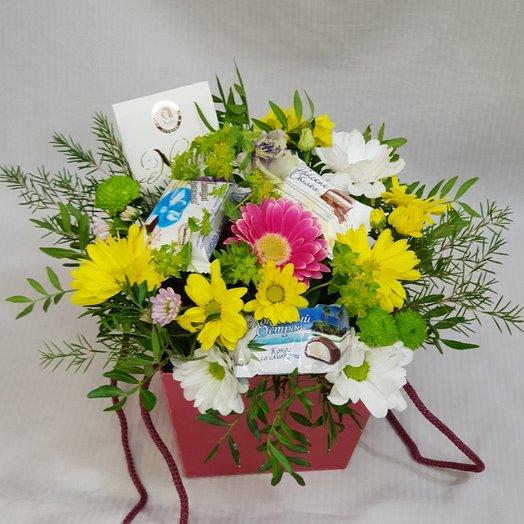 Сладкая коробочка : букеты цветов на заказ Flowwow