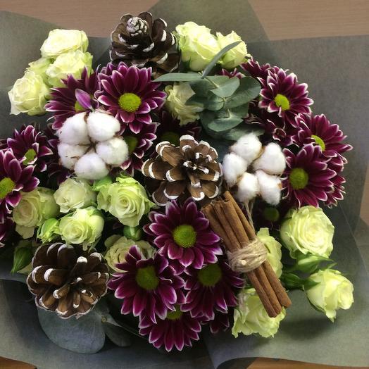 Зимняя сказка: букеты цветов на заказ Flowwow