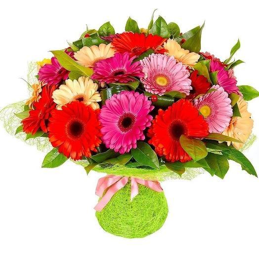 Гербера 25: букеты цветов на заказ Flowwow