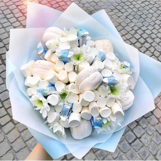 Сладкий букет «Небо»: букеты цветов на заказ Flowwow