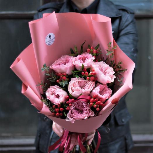 Очарование Беллы: букеты цветов на заказ Flowwow