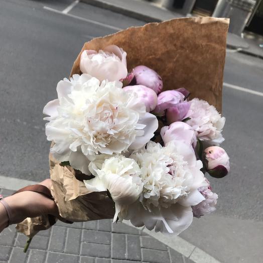 Нежные пионы для Вашей принцессы по супер цене: букеты цветов на заказ Flowwow