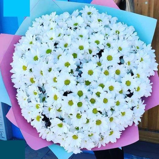 Букет «Ромашковое поле»: букеты цветов на заказ Flowwow