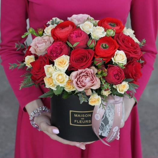 Красный бархат: букеты цветов на заказ Flowwow