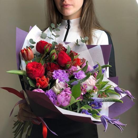 """Букет """"Феникс"""": букеты цветов на заказ Flowwow"""