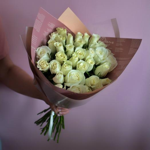35 роз Кения: букеты цветов на заказ Flowwow