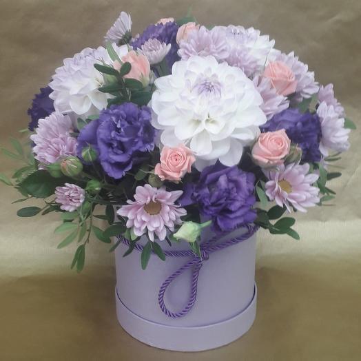 Сиреневое чудо: букеты цветов на заказ Flowwow
